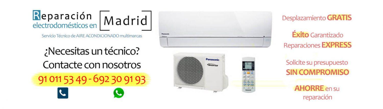 reparación aire acondicionado en madrid aire frio caliente
