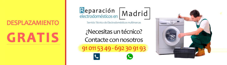 reparar electrodomesticos en madrid